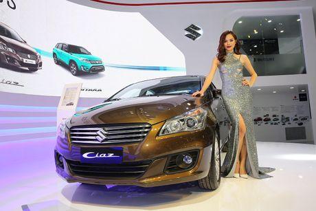 Suzuki Ciaz gia tu 580 trieu dong cap ben thi truong Viet - Anh 1