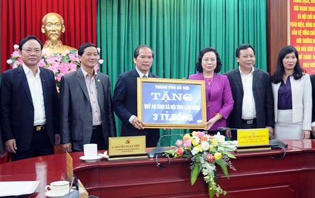 Ha Noi ho tro Lam Dong hang tram ty dong - Anh 1