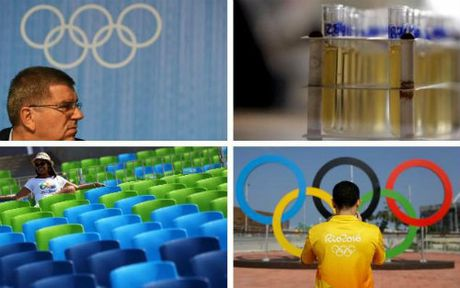 """Olympic Rio bi to """"lach luat"""" cho VDV su dung doping - Anh 1"""