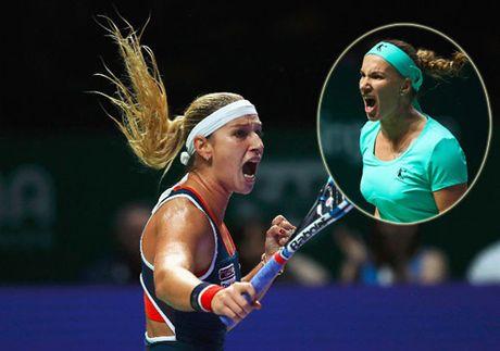 Kuznetsova - Cibulkova: 3 set hap dan (BK WTA Finals) - Anh 1
