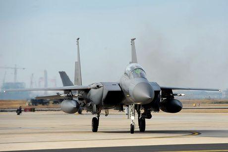 Chien dau co F-15 Eagle 'thong tri' bau troi suot 30 nam - Anh 1