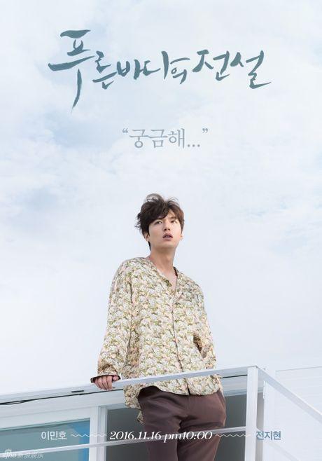 Lee Min Ho gay 'sot' khi dong phim cung 'minh tinh trai dat' - Anh 2