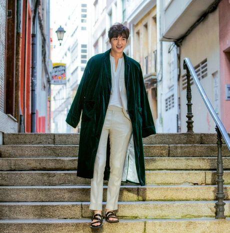 Lee Min Ho gay 'sot' khi dong phim cung 'minh tinh trai dat' - Anh 5