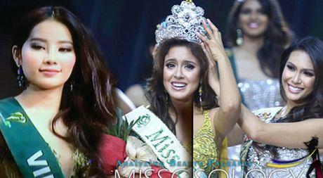 Nam Em dung o top 8, nguoi dep Ecuador dang quang Miss Earth 2016 - Anh 1