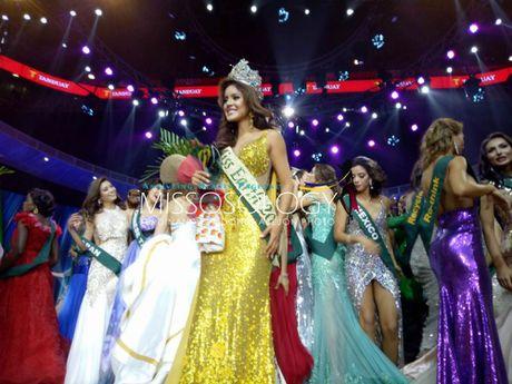 Nam Em dung o top 8, nguoi dep Ecuador dang quang Miss Earth 2016 - Anh 3