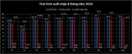 Viet Nam xuat sieu 3,5 ty USD trong 10 thang - Anh 1