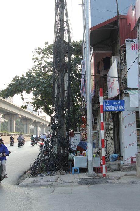 Ha Noi: Van nan 'mang dien nhu nhen giang to' - Anh 5