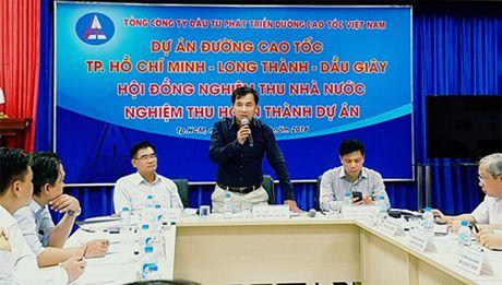 Nghiem thu hoan thanh du an duong cao toc TP HCM-Long Thanh-Dau Giay - Anh 1