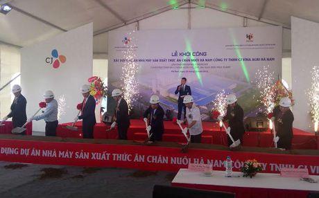 CJ Vina Agri Viet Nam khoi cong xay dung nha may tai Khu cong nghiep Dong Van II - Anh 1