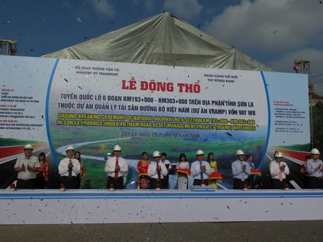 Khoi cong xay dung 110 km tuyen QL6, tinh Son La - Anh 4