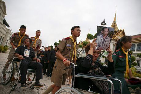 Hang chuc nghin nguoi Thai do ve hoang cung vieng linh cuu nha vua - Anh 3