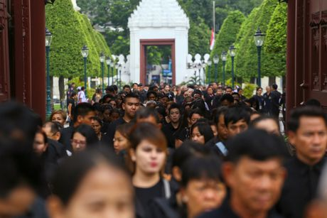 Hang chuc nghin nguoi Thai do ve hoang cung vieng linh cuu nha vua - Anh 4