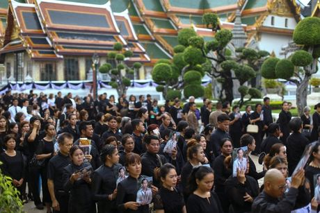Hang chuc nghin nguoi Thai do ve hoang cung vieng linh cuu nha vua - Anh 8
