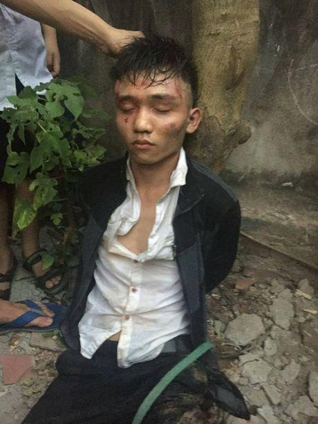 Ha Noi: Ten cuop hung han cua co nguoi ban hang vi ham choi dien tu - Anh 1