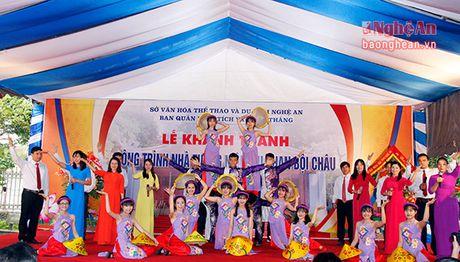 Long trong khanh thanh cong trinh Nha tuong niem cu Phan Boi Chau - Anh 11