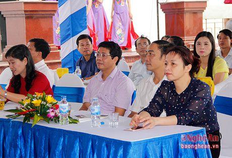 Long trong khanh thanh cong trinh Nha tuong niem cu Phan Boi Chau - Anh 3
