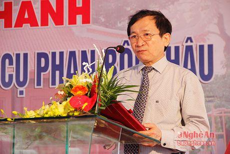 Long trong khanh thanh cong trinh Nha tuong niem cu Phan Boi Chau - Anh 4