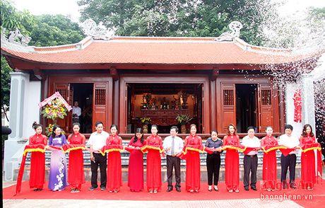 Long trong khanh thanh cong trinh Nha tuong niem cu Phan Boi Chau - Anh 5