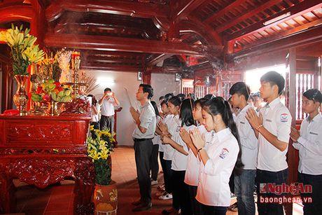 Long trong khanh thanh cong trinh Nha tuong niem cu Phan Boi Chau - Anh 6