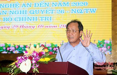 Ong Ho Xuan Hung: Can can doi trong phat trien cac vung mien khi xay dung NTM - Anh 1