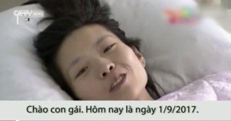 Xuc dong nguoi me ung thu quay clip gui con gai moi sinh truoc khi mat - Anh 1