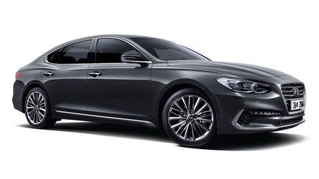 Hyundai Azera 2016 lo dien hoan toan - Anh 1