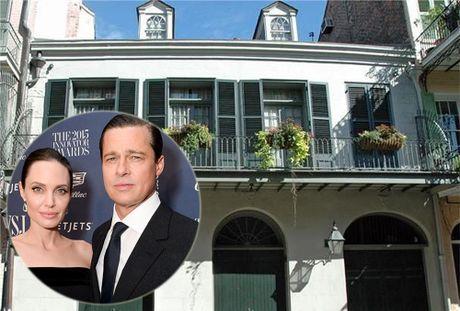 Angelina Jolie va Brad Pitt ban nha o New Orleans gia 4,9 trieu USD - Anh 1