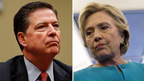 Bi FBI tai dieu tra, Clinton hung don nang truoc them bau cu - Anh 1