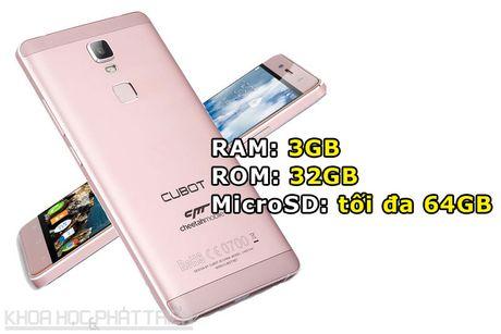 Can canh smartphone cam bien van tay, RAM 3 GB, gia hap dan - Anh 2