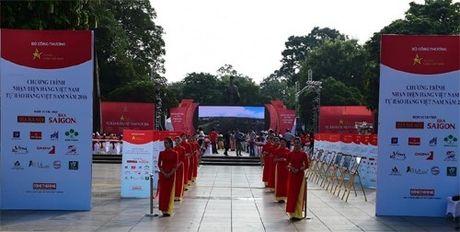 Khai mac chuong trinh Nhan dien hang Viet Nam - Anh 1