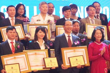 VMS-South lan thu 3 dat Danh hieu 'Doanh nghiep vi nguoi lao dong' - Anh 1