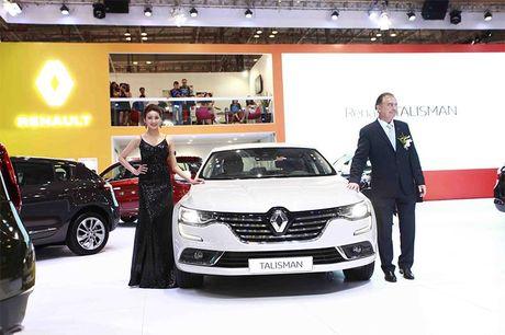 Renault Talisman – 'vien Kim cuong' mang phong cach Phap - Anh 2
