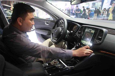 Renault Talisman – 'vien Kim cuong' mang phong cach Phap - Anh 6