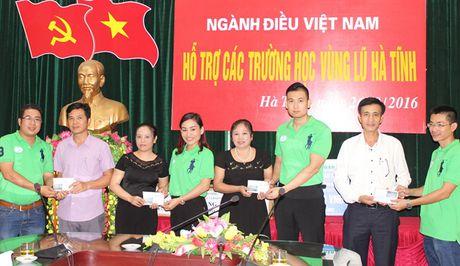 Nganh dieu chung tay ho tro dong bao mien Trung - Anh 1