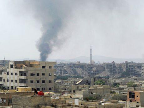 Dai su quan Nga tai Syria bi phao kich - Anh 1