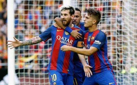 Barca - Granada: Xem M-N-S tao mua ban thang - Anh 2
