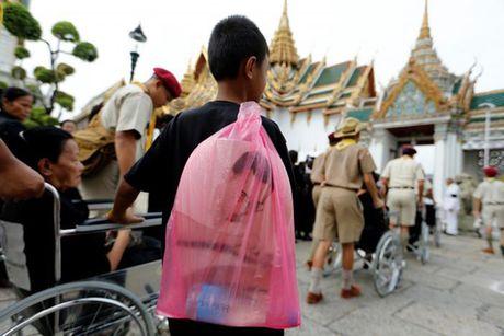 'Bien nguoi' do ve Hoang cung vieng linh cuu Nha Vua Thai Lan - Anh 10