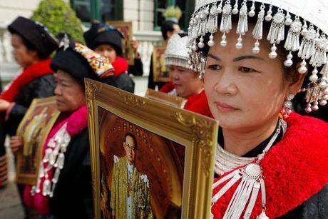 'Bien nguoi' do ve Hoang cung vieng linh cuu Nha Vua Thai Lan - Anh 3