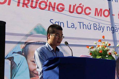 Bao dien tu VOV khanh thanh lop hoc mam non Ban Oi - Son La - Anh 2