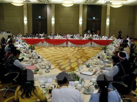 Myanmar se to chuc cuoc doi thoai chinh tri cap quoc gia dau tien - Anh 1