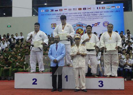 Han Quoc nhat toan doan giai vo dich Judo quoc te Viet Nam 2016 - Anh 1