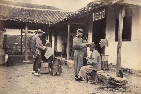 Anh mau cuc hiem ve Thuong Hai cach day 150 nam - Anh 1