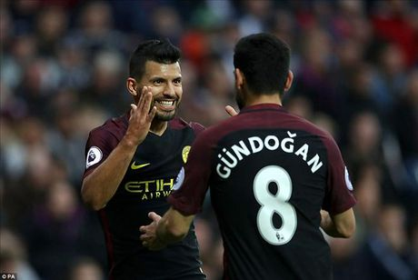 West Brom 0-4 Man City: Cau tra loi cua Pep va Aguero - Anh 1
