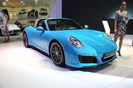 'Hang doc' Porsche 911 Targa gia hon 8 ty tai Viet Nam - Anh 10