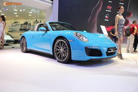 'Hang doc' Porsche 911 Targa gia hon 8 ty tai Viet Nam - Anh 1