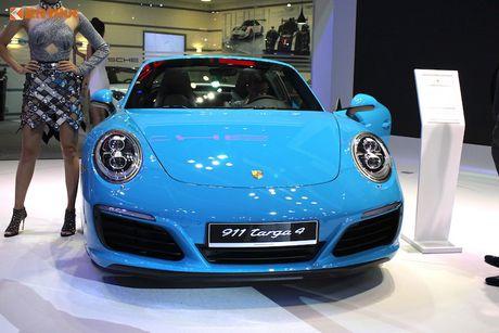 'Hang doc' Porsche 911 Targa gia hon 8 ty tai Viet Nam - Anh 2