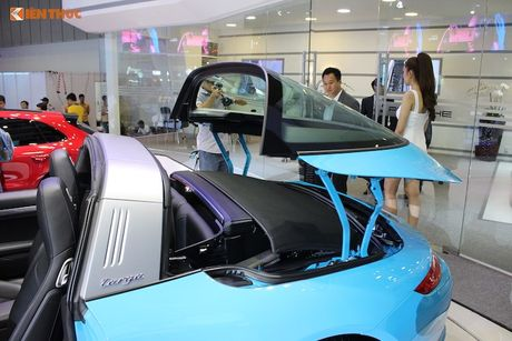 'Hang doc' Porsche 911 Targa gia hon 8 ty tai Viet Nam - Anh 5