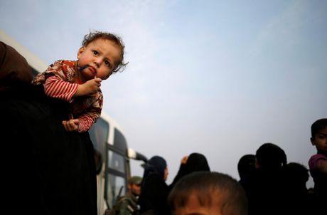 Nhung tre em Iraq dang thuong chay loan o Mosul - Anh 12