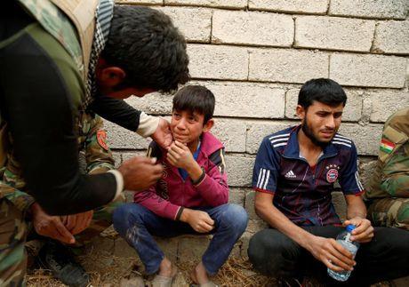 Nhung tre em Iraq dang thuong chay loan o Mosul - Anh 3
