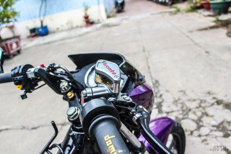 Suzuki Raider 150 do tim crom sieu an tuong tai Sai Gon - Anh 11